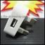 ปลั๊กชาร์จ iPhone +ipad แบบเขี้ยว 3 หัวตรงคะ thumbnail 2