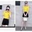 **สินค้าหมด Set_bp1608 ชุด 2 ชิ้น เสื้อเชิ้ตสีเหลืองกระดุมหน้าผูกเอว อกแต่งลายปักรูปแมว กางเกงขาสั้นสีดำแต่งหัวเข็มขัดซิปหลังมีกระเป๋าข้าง ผ้าเนื้อดีคุณภาพมาเต็ม งานดีใส่สวย งานสวยใส่ง่ายน่ารักมาก แมทช์ได้ลงตัวเก๋ๆ thumbnail 9
