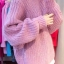 Sweater เสื้อไหมพรมถัก มีประกายวิ้งๆ ในตัว สีชมพู ใส่ตัวเดี๋ยวได้เลยเก๋ๆ ยืดได้เยอะ น่ารักมากจ้าา thumbnail 2
