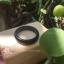 BJR01แหวนหยกดำหยกพม่าแท้ไม่ได้ใส่สี size 68 thumbnail 2