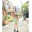 เสื้อตัวยาว/ mini dress สุดน่ารัก ผ้าฝ้ายปักลายหวานๆ พร้อมส่ง thumbnail 10