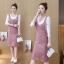 **สินค้าหมด Dress3865-Pink ชุดเอี๊ยมกระโปรงยาวผ้ายีนส์ลูกฟูกเนื้อดีมาก สายปรับความยาวได้ มีกระเป๋าหน้า/ข้างและหลัง ผ่าชายกระโปรงด้านหลังเล็กน้อยเพื่อความคล่องตัว งานดีทรงสวยใส่แล้วน่ารักสุดๆ (ไม่รวมเสื้อตัวใน) สีพื้นชมพู thumbnail 1