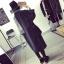 เสื้อโค้ทกันหนาว สไตล์เกาหลี ตัวโคล่ง สีดำ ผ้าสำลีเนื้อไม่หนามาก บุซับในกันลม ใครชอบแนวๆ แนะนำตัวนี้เลยจ้า thumbnail 5