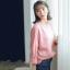 Sweater เสื้อสเวทเตอร์แขนยาว สีชมพู ทรงสวย จะใส่เดี่ยวไหรือใส่โค้ทคลุมก็เริ่ด thumbnail 1