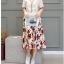 **สินค้าหมด Set_bs1571 ชุด 2 ชิ้น(เสื้อ+กระโปรง) เสื้อแขนสั้นเอวรูดชายระบายผ้าฝ้ายเนื้อดีสีพื้นครีม+กระโปรงยาวลายดอกไม้เอวสม็อคกระเป๋าข้างมีซับในผ้าสปันเนื้อนิ่มมีน้ำหนักใส่สบาย งานดีแบบสวยน่ารัก เซ็ทสองชิ้นสุดคุ้ม ใส่เก๋ๆ ได้บ่อย thumbnail 4