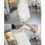 Dress4114 ชุดเดรสลูกไม้ลายสวยสีพื้นขาว มีสายเดี่ยวตัวใน ผ้าลูกไม้คอตตอนเกรดพรีเมียมเนื้อดีหนาสวยอยู่ทรง งานดีทรงดีใส่สวย thumbnail 2