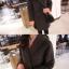 เสื้อโค้ทกันหนาว สีเทาเข้ม สไตล์ยุโรป ดีไซน์หรู งานดี ผ้าวูลเนื้อละเอียด บุซับในกันลม thumbnail 7