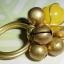 (ขายแล้วค่ะ) C011 แหวนทองเหลืองหัวใจหยกน้ำผึ้ง thumbnail 2
