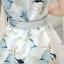 **สินค้าหมด Dress3949 เดรส+เข็มขัด ชุดเดรสทรงสวย มีซิปหลังใส่ง่าย ช่วงเอวเข้ารูป พร้อมเข็มขัดเข้าชุดอย่างดี มีซับในทั้งชุด ผ้าซาตินซิลค์เนื้อดีหนาสวยลายดอกไม้โทนสีฟ้าขาว งานน่ารักทรงสวยเรียบหรู ใส่เมื่อไหร่ก็สวย ได้ไปถูกใจแน่นอนจ้า thumbnail 12