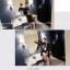 เสื้อคลุมสไตล์เกาหลี สีดำแต่งลายสกรีน ทรงยาว น่ารัก พร้อมส่งจ้า thumbnail 4