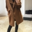 สีชมพู : เสื้อโค้ทกันหนาว ทรงสวย ผ้ากำมะหยี่ผสมสักกะหลาด เนื้อเบา ไม่หนา ทรงไม่เข็งค่ะ บุซับในกันลม พร้อมส่งจ้า thumbnail 4
