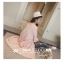 เสื้อคลุมสไตล์เกาหลี ทรงยาว ผ้าร่ม แต่งสกรีนลายด้านหลัง ดีเทลช่วงหลังเก๋ๆ พร้อมส่ง thumbnail 2