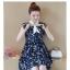 Dress4155 ชุดเดรสไซส์ใหญ่ทรงปล่อยลายดอกไม้โทนสีกรม กระดุมหน้า ผูกโบว์คอ มีซับในอย่างดีทั้งชุด ผ้าชีฟองเกรดพรีเมียมเนื้อดีนุ่มสวยใส่สบาย งานดีดูสวยแพงผ้าดีเหมือนราคาหลักพัน มีติดตู้ไว้ใส่ได้เรื่อยๆ thumbnail 6