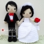 """ตุ๊กตาถัก คนแต่งงาน 12"""" (1) thumbnail 1"""