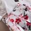 Set_bs1578 ชุด 2 ชิ้น(เสื้อ+กระโปรง) เสื้อชีฟองแขนผ้าไหมแก้วลายดอกไม้สีพื้นขาวครีม กระโปรงซิปหลังผ้าซาตินซิลค์เนื้อหนาสวยลายดอกไม้พื้นสีครีม ผ้าสวยเกินราคา งานน่ารักดูสวยแพง แมทช์กันได้อย่างลงตัว งานเซ็ทสองชิ้นสุดคุ้ม แยกใส่กับตัวอื่นก็สวยจ้า thumbnail 27