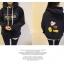 เสื้อกันหนาวฮู้ดดี้ Mickey Mouse มิกกี้เมาส์ สีกรมท่า แฟชั่นเกาหลี น่ารักมากจ้า พร้อมส่ง thumbnail 7