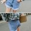 กางเกงยีนส์ขาสั้น แต่งชายขาดลุ่ย เก๋ตรงขากางเกงด้านหน้าและหลังไม่เท่ากัน พร้อมส่งเลยจ้า thumbnail 3