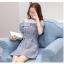 **สินค้าหมด Dress4038 เดรสทรงปล่อยเว้าไหล่แขนตุ๊กตา ช่วงบ่าผ้าคอตตอนเนื้อนุ่มสีพื้นขาวตัดต่อผ้าทอญี่ปุ่นเนื้อดีหนาเรียบสวยไม่ยับง่ายลายสก็อตโทนสีเทา แต่งกระดุมหน้า มีเข็มขัดผ้าเข้าชุด งานน่ารักผ้าเนื้อดีสวยเกินราคา ชุดเดียวสวยจบ ทรงนี้ใส่ได้บ่อย แนะนำเลยน thumbnail 16
