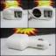 หัวชาร์จในรถ Power Adapter 2 in 1 เพิ่มช่อUSB 2ช่อง+ ช่องเสียบบุหรี่ ใช้กับมือถือทุกรุ่น+IPAD thumbnail 1