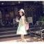 เสื้อตัวยาว/ mini dress สุดน่ารัก ผ้าฝ้ายปักลายหวานๆ พร้อมส่ง thumbnail 16