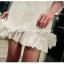 เสื้อตัวยาว/ mini dress สุดน่ารัก ผ้า cotton เนื้อนุ่มแต่งระบายหวานๆ thumbnail 4