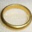 (ขายแล้วค่ะ) C010#1 แหวนทองเหลืองแบบเกลี้ยง thumbnail 3