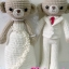 "Wedding Bear 1 (15"") thumbnail 1"