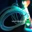 สายUSB หัวไฟ +สายไฟจุด (เลือกหัวได้คะ ไอโฟน) >> (ยาว 1 เมตร) thumbnail 3