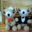 หมีคู่แต่งงาน 10 นิ้ว แบบนั่ง thumbnail 6