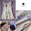 พร้อมส่ง - Size M Lady Daisy Ribbon Off-shoulder Mini dress : มินิเดรสเปิดไหล่โบว์ลายดอกเดซี่โทนสีเหลือง thumbnail 10