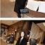 เสื้อโค้ทกันหนาว สไตล์เกาหลี ทรงสวย Classic ผ้าวูลเนื้อดี บุซับในกันลม ใส่แบบตั้งปกขึ้นก็เก๋ สีดำ พร้อมส่ง thumbnail 2