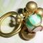 (ขายแล้วค่ะ) C017 แหวนทองเหลือง ประดับฮกลกซิ่วกระดิ่ง thumbnail 2