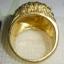 C002 แหวนรูปนกฮูก ทองเหลือง 100% thumbnail 4