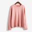 Sweater เสื้อสเวทเตอร์แขนยาว สีชมพู ทรงสวย จะใส่เดี่ยวไหรือใส่โค้ทคลุมก็เริ่ด thumbnail 3