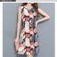 **สินค้าหมด Dress4045 ชุดเดรสทรงสวยลายใบไม้ ซิปหลังใส่ง่าย ผ้าโพลีเนื้อดีนุ่มใส่สบาย งานสวยใส่ง่ายน่ารักมาก thumbnail 9