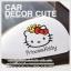 HELLO KITTY - สติ๊กเกอร์ตกแต่งกระจกข้างรถยนต์ ลาย Princess Kitty thumbnail 1
