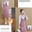 **สินค้าหมด Dress3865-Pink ชุดเอี๊ยมกระโปรงยาวผ้ายีนส์ลูกฟูกเนื้อดีมาก สายปรับความยาวได้ มีกระเป๋าหน้า/ข้างและหลัง ผ่าชายกระโปรงด้านหลังเล็กน้อยเพื่อความคล่องตัว งานดีทรงสวยใส่แล้วน่ารักสุดๆ (ไม่รวมเสื้อตัวใน) สีพื้นชมพู thumbnail 14
