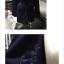เสื้อโค้ท กันหนาว ทรงยาว แต่งซิบด้านข้าง เก๋ๆ สีกรม พร้อมส่ง thumbnail 2