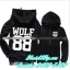 พร้อมส่ง Hood Hood Wolf EXO size M thumbnail 1