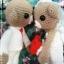 คู่แต่งงานหมีบ่าว-สาว 10 นิ้ว thumbnail 3