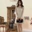 Best N Eve เสื้อไหมพรม รุ่น Y-40A4 - White Hitz Dress