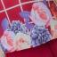 NEW เดรสผ้าชีฟอง แต่งกั้กลายดอกไม้ผ้าอิตาลี่ลายตาราง (ซับในไฮเกรดทั้งชุด) thumbnail 3