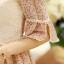 **สินค้าหมด Dress3851 ชุดเดรสทรงสวยอกลูกไม้สวยหรู แขนสามส่วนระบาย มีซิปข้างใส่ง่าย ผ้าชีฟองเนื้อดีเกรดพรีเมี่ยม งานตัดเย็บอย่างดี มีซับในทั้งชุด งานดีสวยหวานน่ารักมาก **งานเหลือสีครีมสีเดียวจ้า thumbnail 25