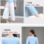Set_bt1557 ชุด 2 ชิ้น(เสื้อ+กางเกง) เสื้อคอวีแขนยาวห้าส่วนสีพื้นฟ้าพาสเทล กางเกงทรงขากว้างยาวห้าส่วนสีพื้นขาวเอวสม็อคยางยืด มีกระเป๋าข้าง ผ้าหนาเนื้อดีมีน้ำหนักทิ้งตัว งานสวยน่ารักผ้านุ่มใส่สบาย เซ็ทสองชิ้นสวยคุ้ม งานเรียบหรูดูแพง แมทช์กันได้อย่างลงตัว thumbnail 3