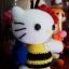 คิตตี้ชุดผึ้งน้อย 6 นิ้ว thumbnail 5