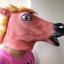 หน้ากากหัวม้าไทย สีน้ำตาล-แดง thumbnail 3