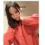 เสื้อโค้ทกันหนาว สีแดง ทรงโคล่ง เกาหลีมากๆ ผ้าวูลผสมสักกะหลาด ผ้าดีมากๆ บุซับในกันลมอย่างดี พร้อมส่ง Overcoat thumbnail 16