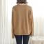 Sweater เสื้อสเวทเตอร์แขนยาว สีน้ำตาล ทรงสวย จะใส่เดี่ยวไหรือใส่โค้ทคลุมก็เริ่ด thumbnail 16