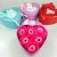 กล่องหัวใจวาเลนไทน์ ดอกกุหลาบ6ดอก(มีกลิ่นหอม) สีชมพู thumbnail 1