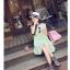 เสื้อตัวยาว/ mini dress สุดน่ารัก ผ้าฝ้ายปักลายหวานๆ พร้อมส่ง thumbnail 19